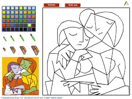 Dibujos Para Colorear De Bibliotecas Escolares Imagui