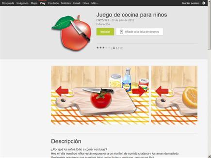 juego de cocina para ni os biblioteca escolar digital