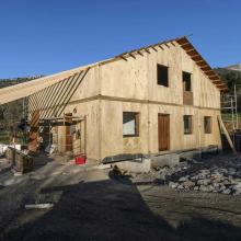 Una vivienda de alta eficiencia energética en Artaun