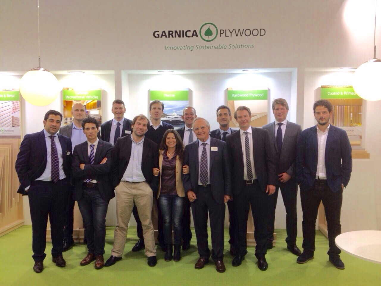Garnica takes part in the Interzum 2015 Trade Fair in Cologne