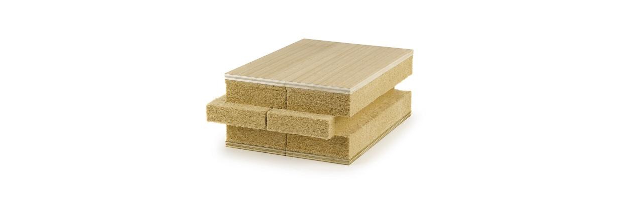 G-Brick Cover wood fibres