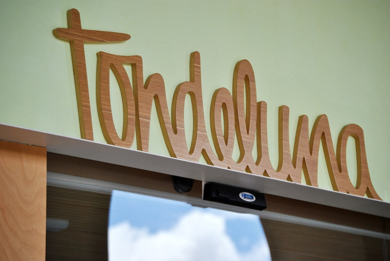 The Tondeluna restaurant, an example of sustainable architecture