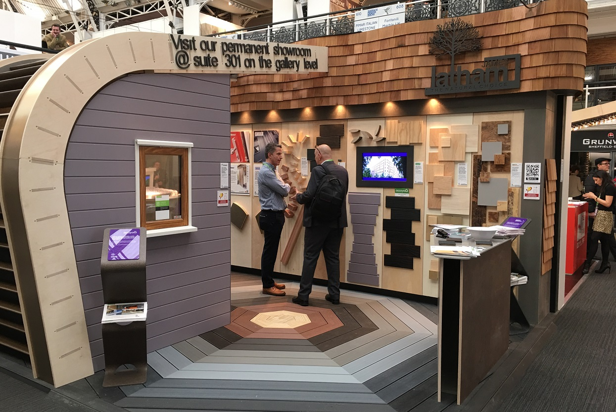 Garnica, present at the James Latham stand at Surface Design Show 2017