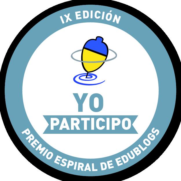 Participamos en el Premio Espiral EDublogs