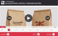 Algoritmos, datos, comunicación (La Propagadora)