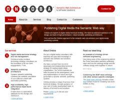 Ontoba: semantic web architecture