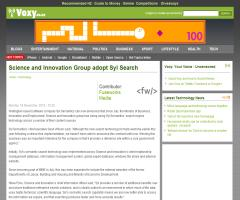 Science and Innovation Group adopt Syl Search