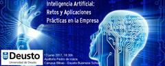 GNOSS participa en la Jornada 'Inteligencia Artificial: Retos y Aplicaciones Prácticas en la Empresa' (Deusto Business School). 13 Junio, Bilbao