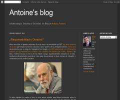 Antoine's blog