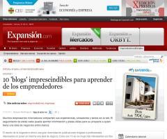 """10 """"BLOGS""""IMPRESCINDIBLES PARA APRENDER DE LOS EMPRENDEDORES"""