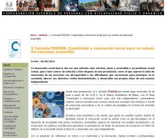 V Jornada FEKOOR: Creatividad e innovación social para un estado del bienestar sostenible