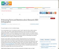 8 Amazing Facts and Statistics about Semantic SEO (Infographic)
