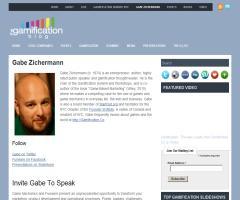 Gabe Zichermann, referencia internacional en Gamification y creador del término 'funware'