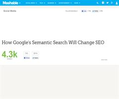 How Google's Semantic Search Will Change SEO
