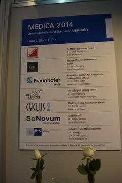 StimulAIS Dissemination in MEDICA fair (Dusseldorf, 12-15 November 2014)