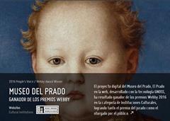 El proyecto digital del Museo del Prado, El Prado en la Web, desarrollado con tecnología de Gnoss.com, obtiene dos premios de la International Academy of Digital Arts & Sciences
