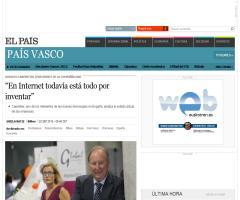 EN INTERNET TODAVÍA ESTÁ TODO POR INVENTAR (R. CARPINTIER)