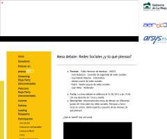 Mesa debate en #riojaparty2012: Redes Sociales ¿y tú qué piensas? (Viernes, 15 de junio)