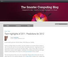 Lo más importante del 2011 y predicciones para el 2012. The Smarter Computing blog. IBM
