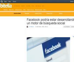 Facebook podría estar desarrollando un motor de búsqueda social