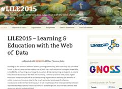 "GNOSS patrocina #LILE 2015 ""Learning & Education with the Web of Data"" en el marco de la 24 International World Wide Web Conference"