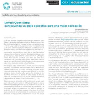 Articulo: Linked open data, construyendo un grafo educativo para una mejor educación.