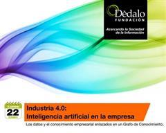 """Susana López imparte el seminario """"Industria 4.0: Inteligencia artificial en la empresa"""" (Fundación Dédalo)"""