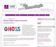 Seminario 'Redes Sociales en la Educación' (Madrid Tecnología)