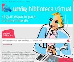 Unir Biblioteca Virtual