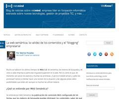 """La web semántica, la validez de los contenidos y el """"blogging"""" empresarial"""