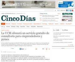 La UCM ofrecerá un servicio gratuito de consultoría para emprendedores y pymes