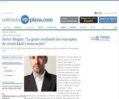 """Javier Megías: """"La gente confunde los conceptos de creatividad e innovación"""""""