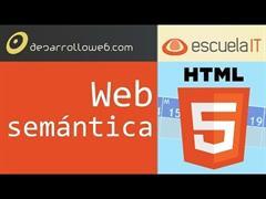 Web semántica - Curso HTML5 gratuito