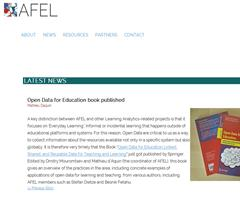 New book on Open Data for Education