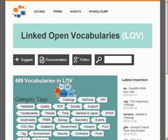 Nueva versión de la aplicación Linked Open Vocabularies (LOV)