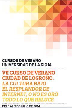 GNOSS participa en los Cursos de Verano de la Universidad de La Rioja. 3/7/2014