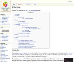 sWebMap Semantic Component