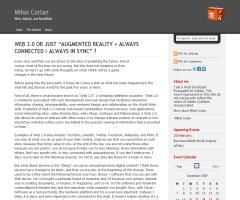 """Web 3.0 or just """"Augmented Reality + Always Connected / Always in Sync"""" ?"""