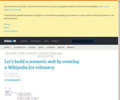 Let's build a semantic web by creating a Wikipedia for relevancy — Tech News and Analysis