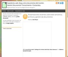 Web semántica, archivos y gestión de documentos