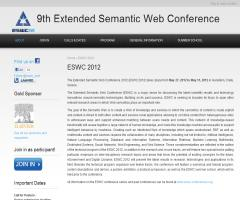 Extended Semantic Web Conference 2012 (ESWC 2012)