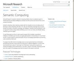 Semantic Computing - Microsoft Research