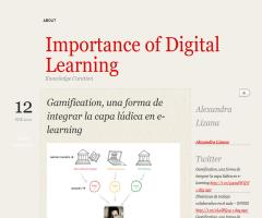 Gamification, una forma de integrar la capa lúdica en e-learning (Importance of Digital Learning)