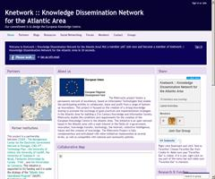 Knetwork :: Knowledge Dissemination Network for the Atlantic Area | Our commitment is to design the European Knowledge Centre.